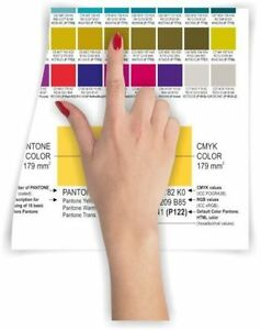 Set Pantone Colours Coated uncoated New Edition