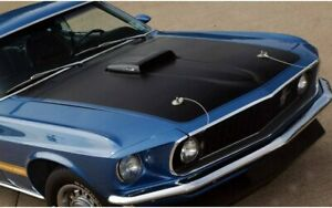 1969 Ford Mustang Mach 1 Hood And Cowl Paint Stencil 420 St