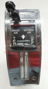 1955 1956 Chevy Deluxe Heater Control 2 Reconditioned Six Month Warranty
