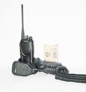 Recased Kenwood Tk 3160 16ch Uhf 450 490 Mhz 4w Radio New Battery