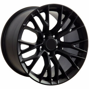 Matte Black Wheel 18x8 5 For 1993 2002 Chevy Camaro Owh3257