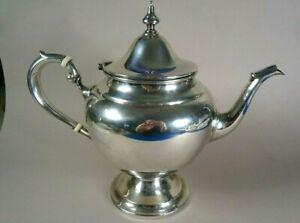 Sterling Silver Gorham Puritan 452 Teapot 2 5 Pints 648g Excellent No Mono