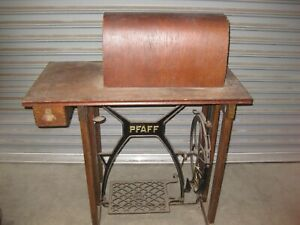 Antique Pfaff Treadle Sewing Machine Table No Machine Oxnard Ca
