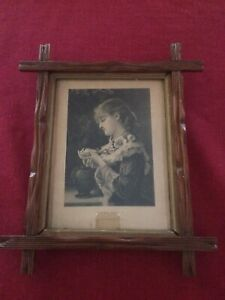 Tramp Adirondack Frame With First Grief Print