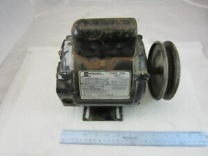 Emerson Motor 1 2 Hp 1 Phase 1725 Rpm 5 8 Shaft
