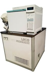 Agilent 6890n Network Gas Chromatography System Leco Pegasus Iii 614 100 700