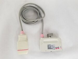 Toshiba Plm 703at Multifrequency Range Linear Array Ultrasound Transducer Probe