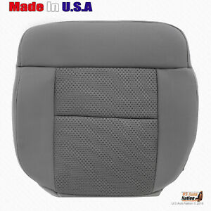 2004 To 2006 Ford F150 Driver Bottom Replacement Cloth Seat Cover Med Flint Gray