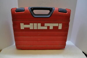 Hilti Te 4 a18 Cordless Rotary Hammer Drill With 2 Batteries Charger With Case