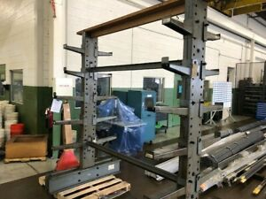 Industrial Steel Shelving 8 Tall X 6 8 Long Extremely Heavy Duty