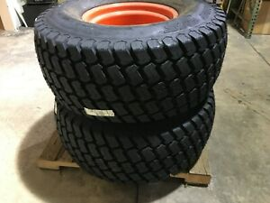 Two Kubota Alr6803 Titan 44x18 00x20 Multi trac Mounted Tires