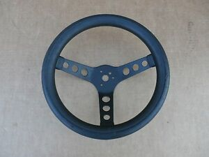 Cal Custom Steering Wheel Black Foam 11 5 Superior Grant 500 Old 1970 Racing