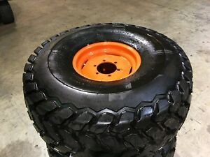 Two Kubota Alr8806 Firestone 21 5l 16 1 Turf Field Mounted Tires