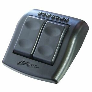 Waterproof Rocker Switch On Off Push Toggle Control lock Out trim Tabs Circ