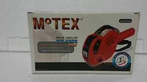 Original Oem Motex Mx5500 Hand Price Labeller With Free Shipping