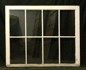 20 Availble 45 X30 Antique Vintage Wooden French Sash Windows 8 Glass Lite Pane