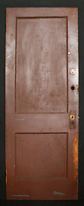 5 Avail 30 W Antique Vintage Reclaimed Old Solid Wood Wooden Interior Door Panel