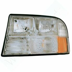 Head Driver Left Side Lamp Replacing For Gmc 1998 2001 S15 Jimmy Headlight