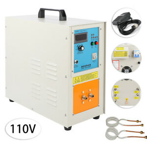 110v 15kw 30 100 Khz High Frequency Induction Heater Furnace Ht 15a