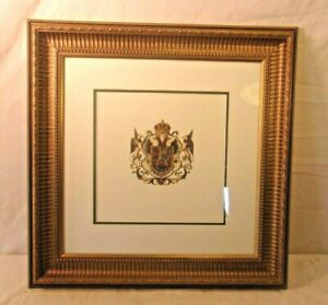 Vintage Victorian Frame With Print 23 3 4 X 23 3 4 Holds 17 3 4 X 17 3 4