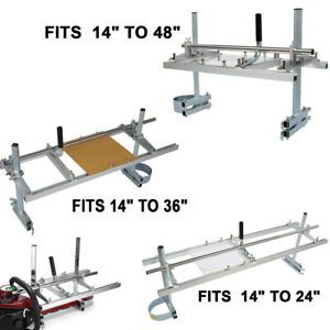 Fit 14 24 36 48 Chainsaw Guide Bar Mill Planking Or Strip Lumber Cutting