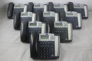 Lot Of 10 At t 974 4 line Small Business System Office Phones W Grey Handsets