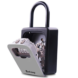 Key Lock Box Combination Lockbox With Code For House Key Storage Combo Door