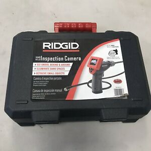 Ridgid Micro Ca 25 Hand held Inspection Camera 4 Ft Cable Reach 40043