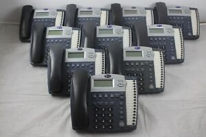 Lot Of 10 At t 945 4 line Small Business System Office Phones W Grey Handsets