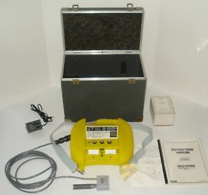 National Draeger Ecolyzer 400 Combustible Gas oxygen Monitor Detector Analyzer