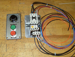 Mixer Start Stop And Timer Motor Starter Kit Hobart 60qt 80qt 220 Volt 3 Phase