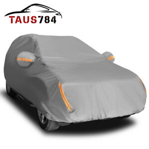 15 Layers Full Car Cover Waterproof Protection Uv Scratch Dust Heat Resistant Us