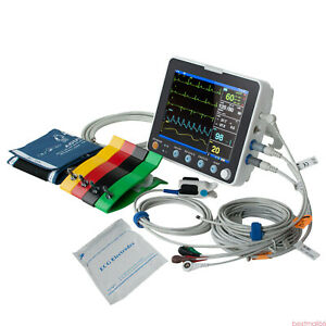 Portable Vital Sign Dental Patient Monitor Ecg Nibp Resp Temp Spo2 Pr handpiece