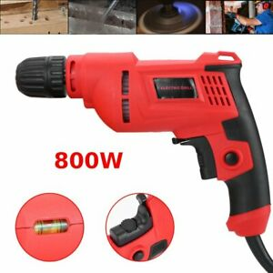 800w Electric Rotary Hammer Drill 1 2 Inch 5 4 Amp corded Tools New Ma