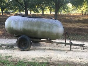 500 Gallon Propane Tank Trailer Mounted