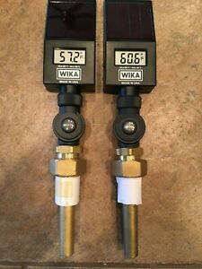 Wika D010301wi Digital Thermometer 3 1 2in Stem 0 300f two