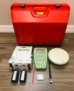 Leica Gps Atx1230 With Rx1210t And Ax1202 Gg For Surveying
