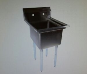 John Boos E1s8 18 12 One Compartment Sink