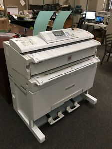 Lanier Lw310 Wide Format Printer Used