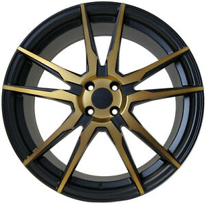 4 New 4x100 Rims 20x7 5 Wheels For Honda Civic Corolla Et 40 20x7