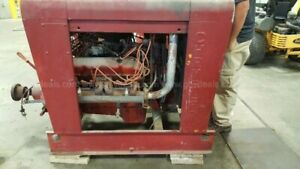 Chrysler Industrial Engine W Rockford Clutch Transmission Pto Only 75 Hours
