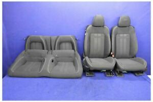 2018 Ford Mustang Gt Cloth Coupe Seats W Racing Stripes Hot Rod Restomod