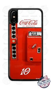 Coca-Cola 10 cents Vending Machine Phone Case Cover For iPhone Samsung LG Google