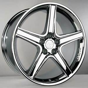 20 x10 Mustang Toxic Wheels Chromed Saleen Cobra Gt 4 Set Of Four Wheels