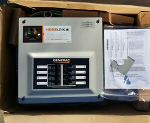 Generac 30 amp Homelink Upgradeable Pre wired Manual Transfer Switch