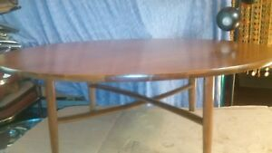 Midcentury Danish Modern Parallel By Barney Flagg Drexel Walnut Cocktail Table