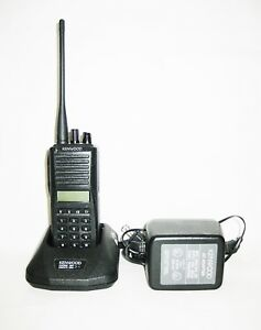 Kenwood Tk 380 250 Channel 450 490 Mhz Uhf 4w Portable Radio 30 Day Warranty