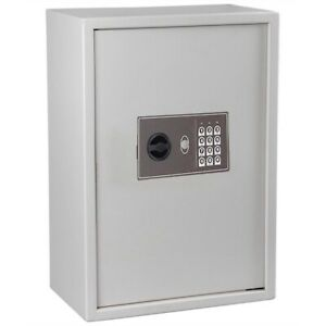 15x9x21 Inch Electronic Digital Keyless Lock 245 Key Storage Safe Box Cabinet