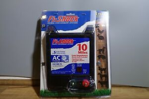 Open Box Fi shock Eac10m fs 10 mile Ac Low Impedance Electric Fence Energizer