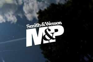Smith And Wesson M P 6 Pair Gun Multi Color Hunting Vinyl Decal Sticker